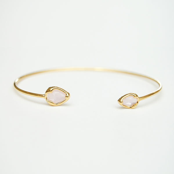 Seymour Opaque Pink Bangle