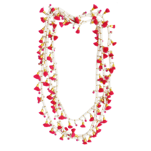 Roberta Roller Rabbit Alani Necklace in Red