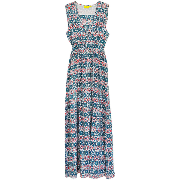 Roberta Roller Rabbit Lune Dress in Suraj Teal