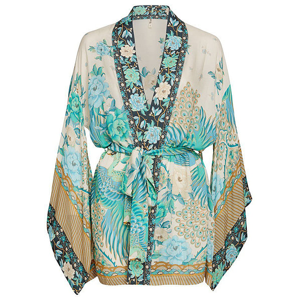 Spell & The Gypsy Collective Cloud Dancer Short Kimono