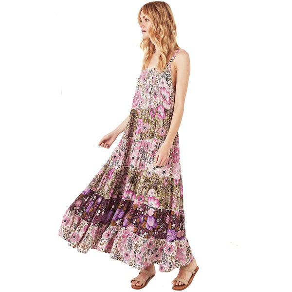 Spell & The Gypsy Collective Jasmine Desert Daisy Maxi Dress in Lilac