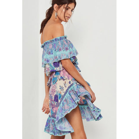27c8911f60 ... Spell   The Gypsy Collective Siren Song Skirt in Mermaid