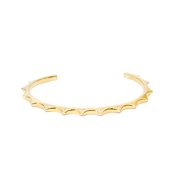 Tai Spike Rhinestone Bangle