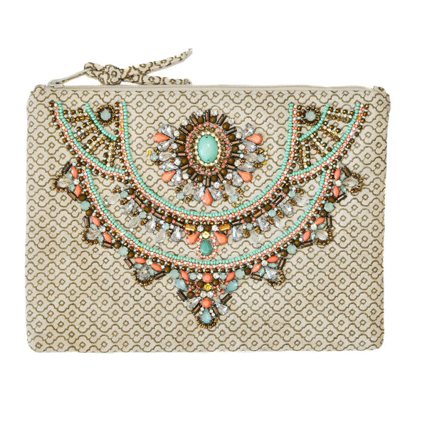 Star Mela Sequined Clutch