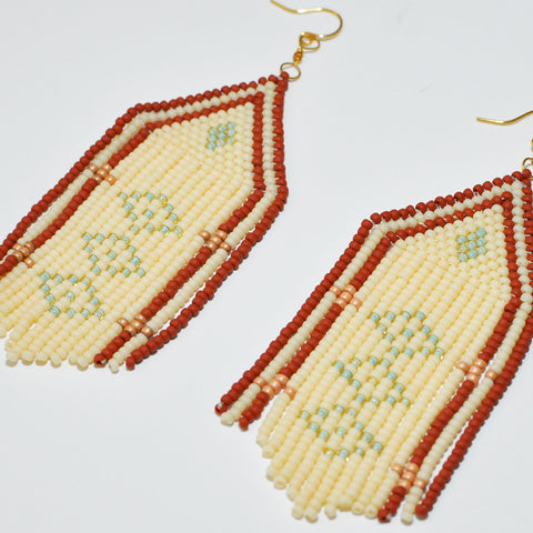 Sunce Bidjan Ivory Earrings