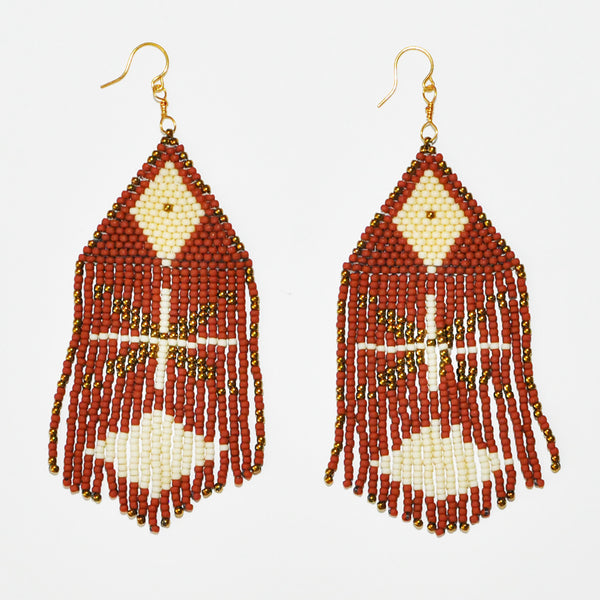 Sunce Bidjan Rust Earrings