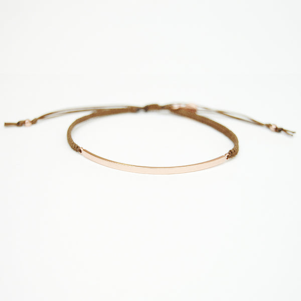 Tai Brown Band Bracelet