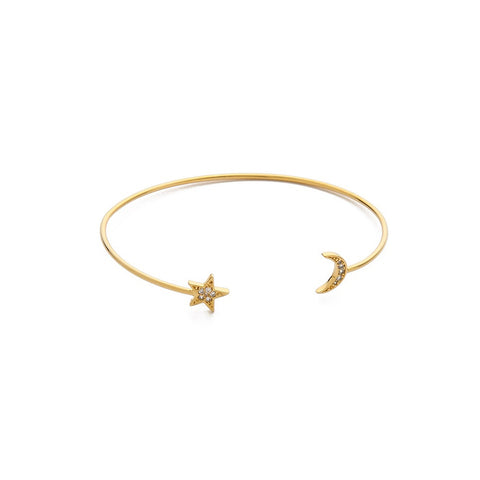 Tai Open Moon & Star Bracelet