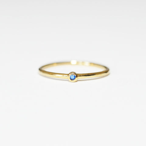Tai Tiny Dot Ring in Blue