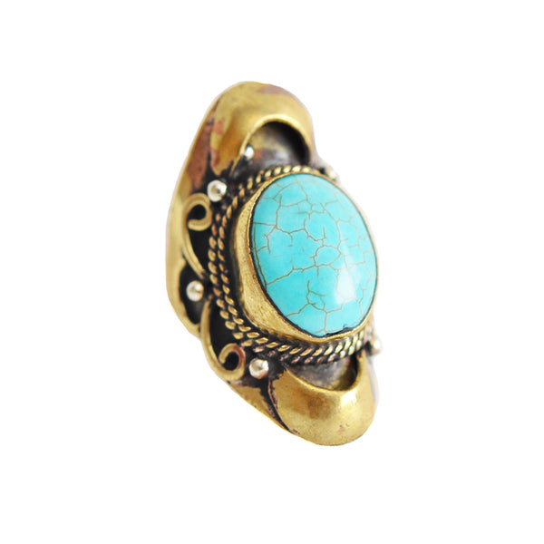Turquoise Native Ring