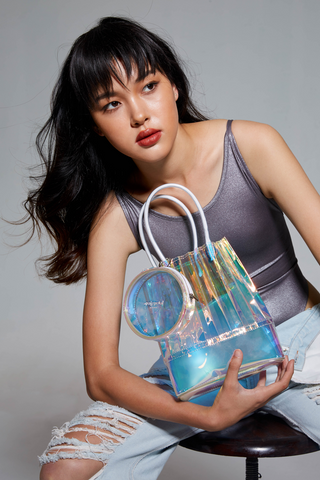 aPacklet (Small) | Handbag in Prism