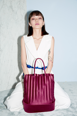 aPulp | Tote bag in Oxblood