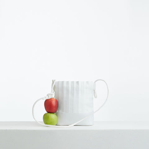 aPacklet (Pitcher) | Handbag in White