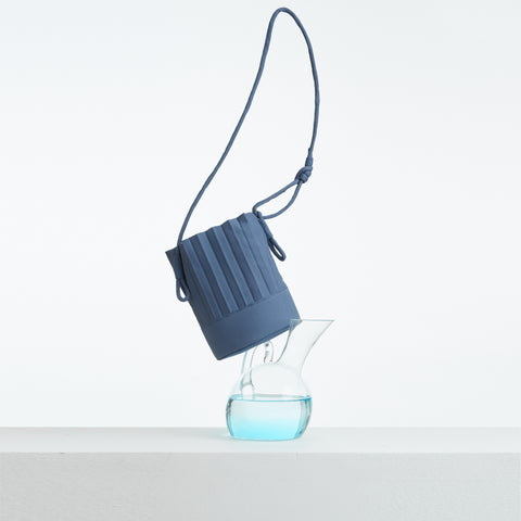aPaddy | Bucket bag in Marine Blue