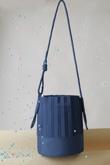 aPail | Bucket bag in Marine Blue