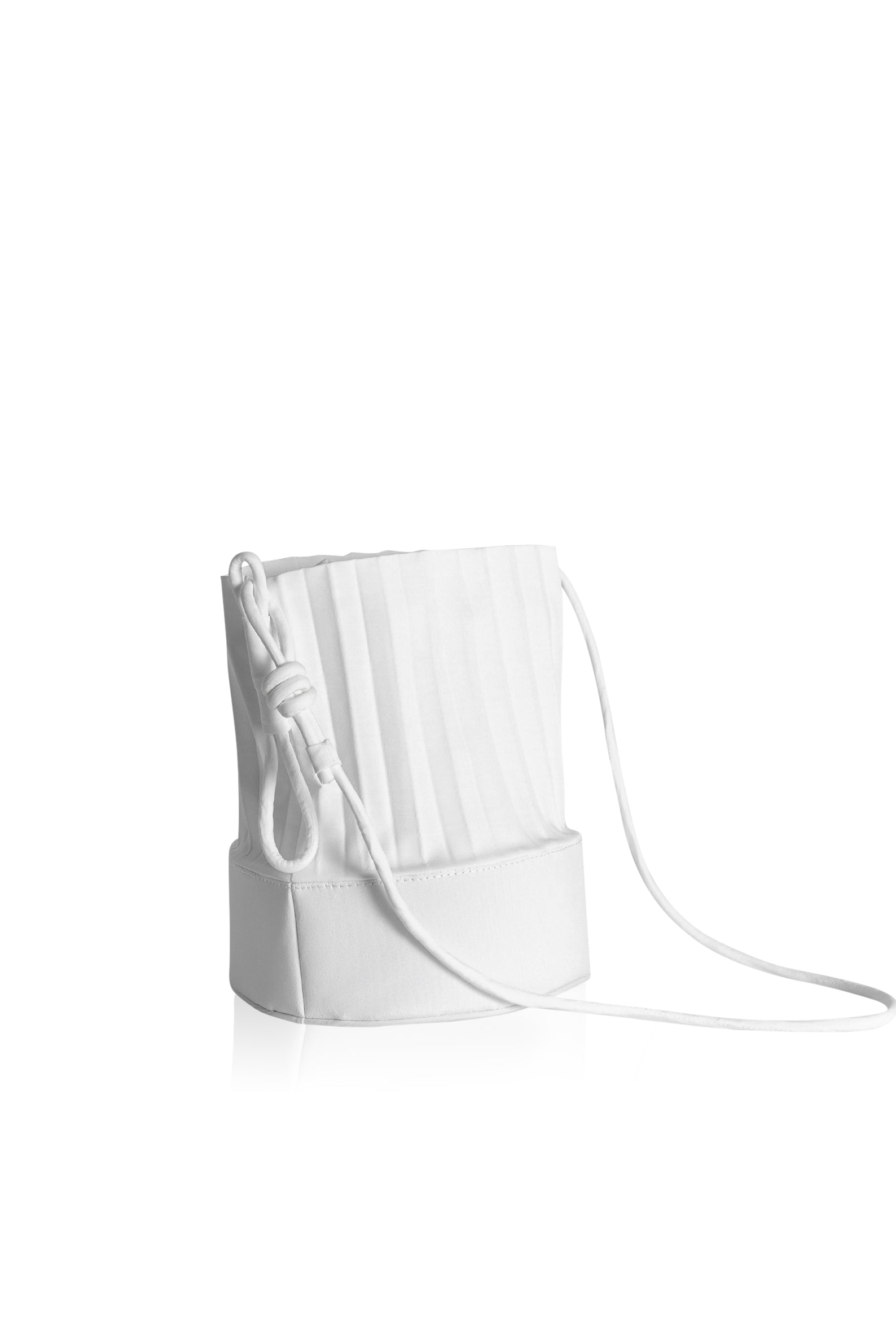 aPail | Bucket bag in White