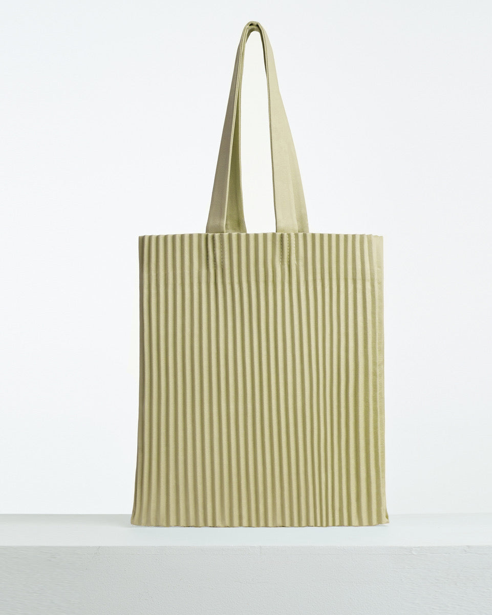 aPulp (Satin) | Tote bag in Pear