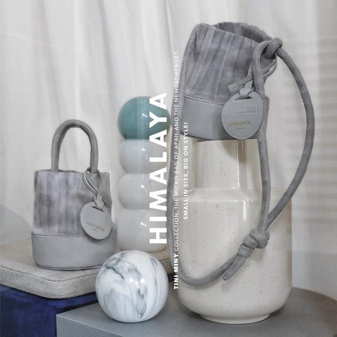 aPail MINI | Bucket bag in Himalaya