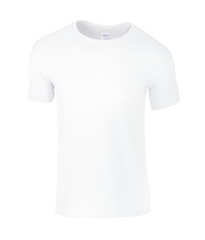 Gildan SoftStyle® Ringspun T-Shirt frontprintwhite hood backprintwhite backprintwhite