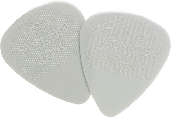 Fender .60mm Nylon Picks 12-pack 0986351750