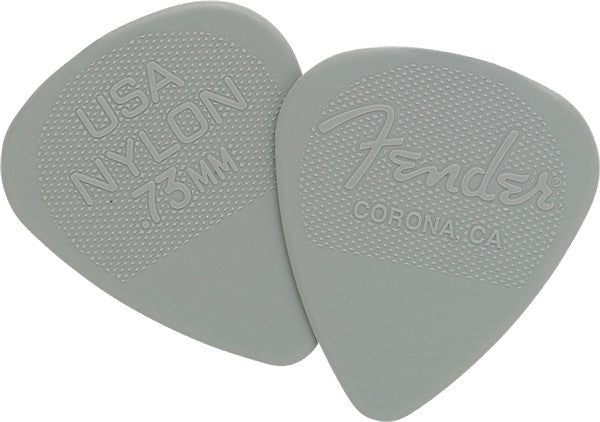 Fender .73mm Nylon Picks 12-pack 0986351800