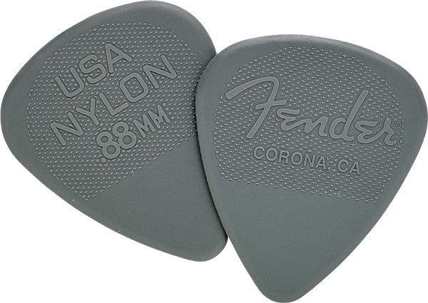 Fender .88mm Nylon Picks 12-pack 0986351850