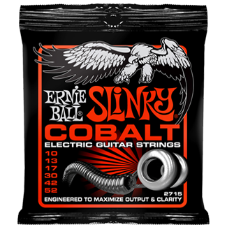 Ernie Ball 2715 Cobalt Skinny Top Heavy Bottom Slinky Electric Guitar Strings