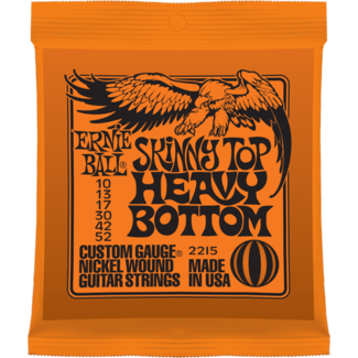 Ernie Ball 2215 Skinny Top/Heavy Bottom Nickel Electric Guitar Strings