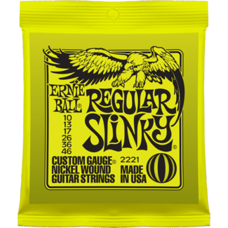 Ernie Ball 2221 Regular Slinky Nickel Electric Guitar Strings
