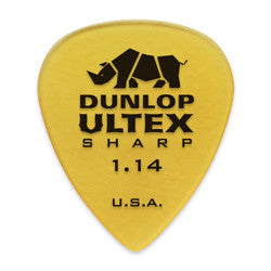 Dunlop Ultex 1.14mm Sharp Picks 6-pack 433P114