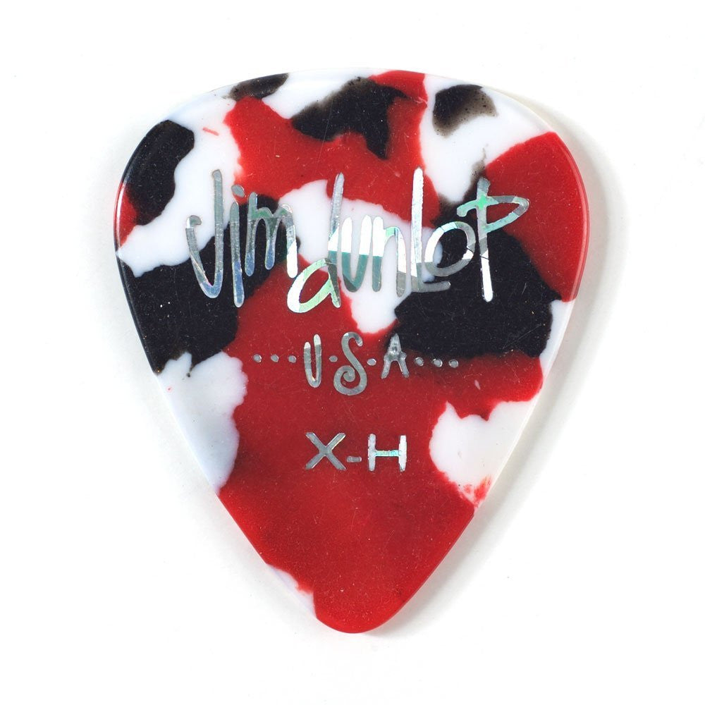 Dunlop 12-Pack Celluloid Extra Heavy, Confetti Picks 483P06XH