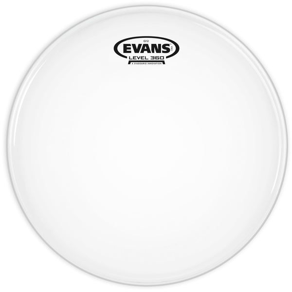Evans G12 Coated White 10 in. Drumhead B10G12
