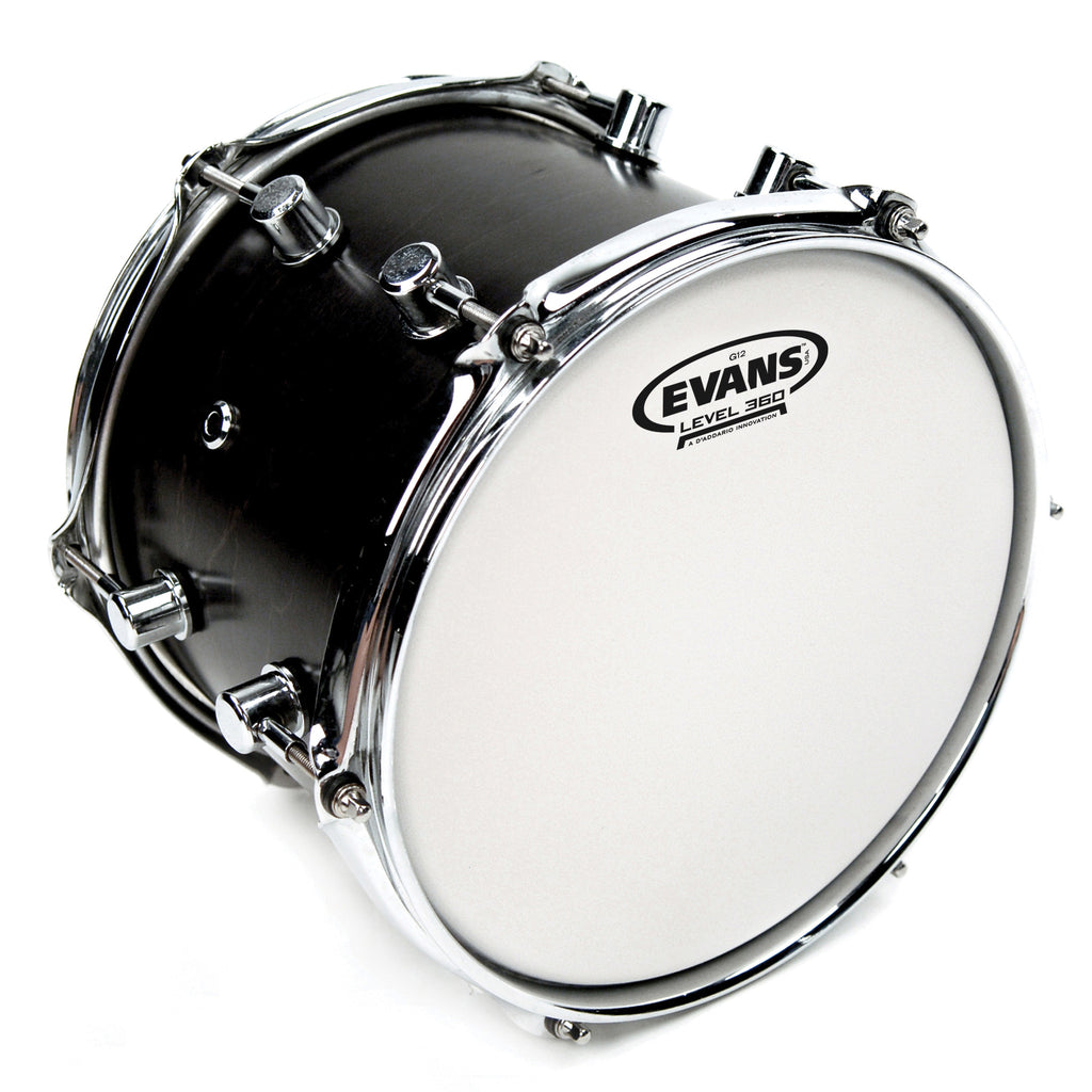 Evans G12 Coated White 13 in. Drumhead B13G12