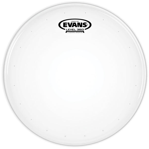Evans Genera Dry 14 in. Coated Batter Snare Head B14DRY