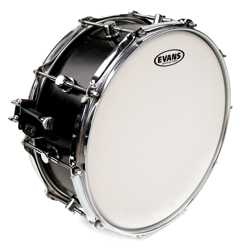 Evans G2 Coated White 14 in. Drumhead B14G2