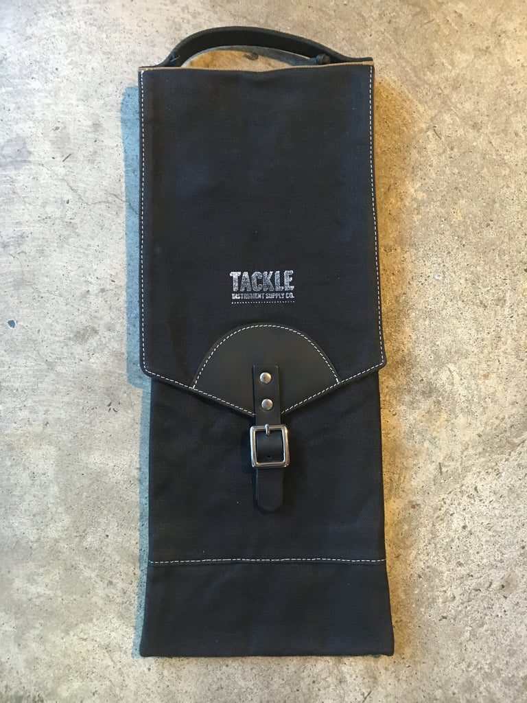 Tackle Instrument Supply Co. Waxed Canvas Compact Drumstick Bag - Black