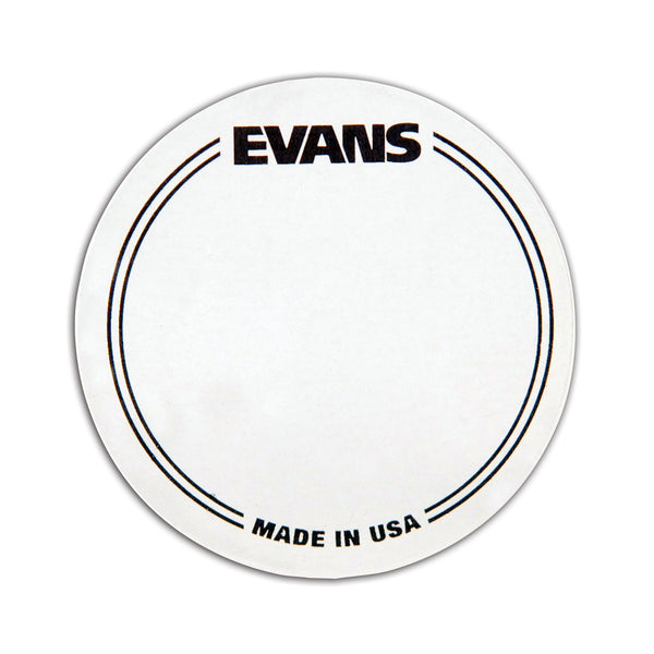 Evans BD Nylon Single Pedal Patch, Clear, 2 pack EQPC1