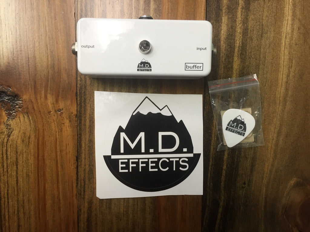 M.D. Effects White Signal Buffer TL071