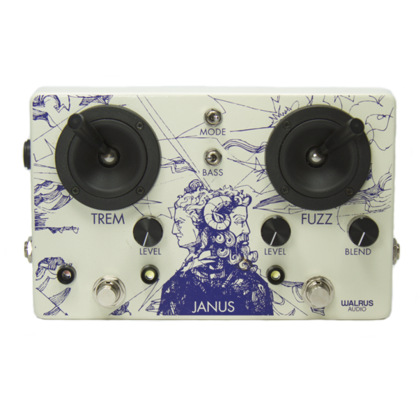 Janus Fuzz/Tremolo With Joystick Control (Only Available Online)