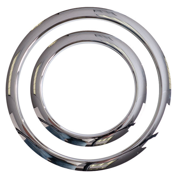 Gibraltar 6 in. Chrome Port Hole Protector SC-GPHP-6C
