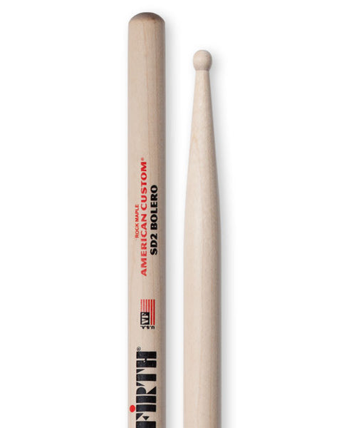 Vic Firth SD2 Bolero American Custom Drumsticks Wood