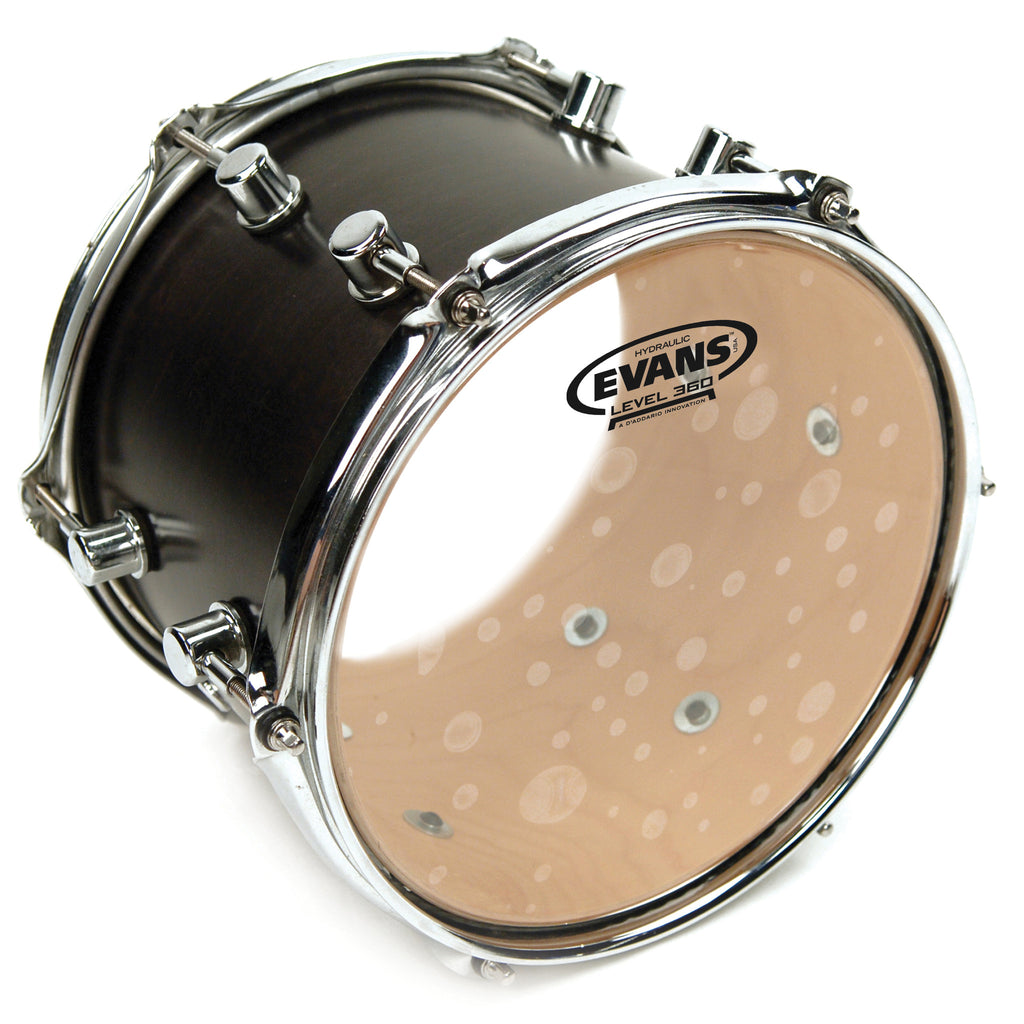Evans Hydraulic Glass Clear 14 in. Tom Drumheads TT14HG