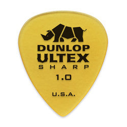 Dunlop Ultex 1.00mm Sharp Picks 6-pack 433P100
