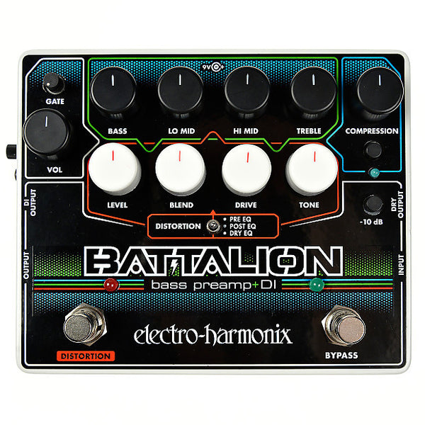 ElectroHarmonix Battalion Bass Preamp and DI