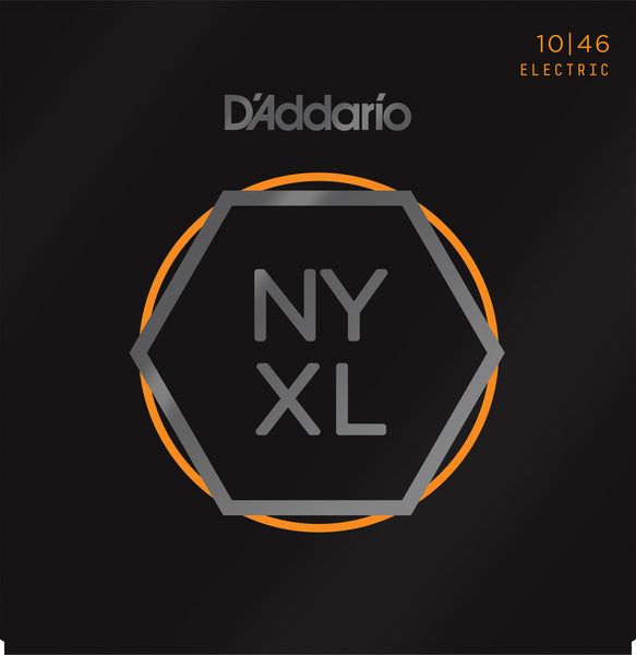 D'Addario NYXL1046 Nickel Wound Electric Guitar Strings, Regular, 10-46