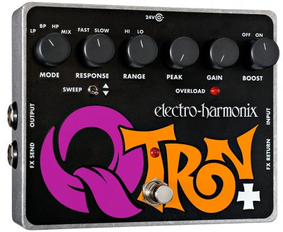 Electro-Harmonix Q-Tron Plus Envelope Filter with Effects Loop