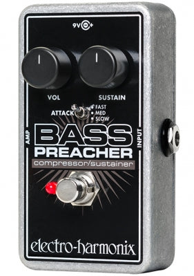 Electro-Harmonix Bass Preacher Compression / Sustainer Pedal