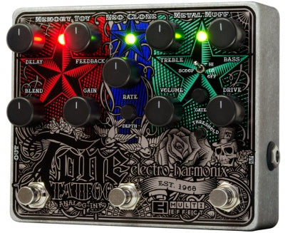 Electro-Harmonix Tone Tattoo Analog Multi-effects Pedal