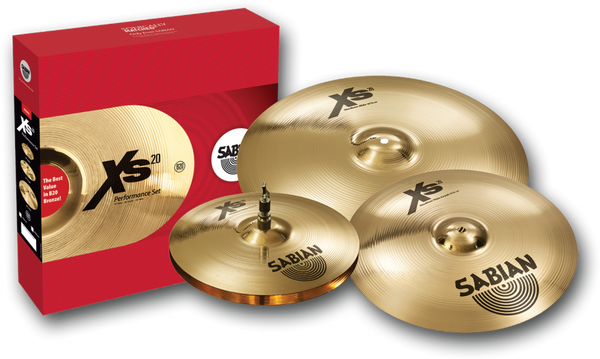 Sabian XS20 Performance Set XS5005