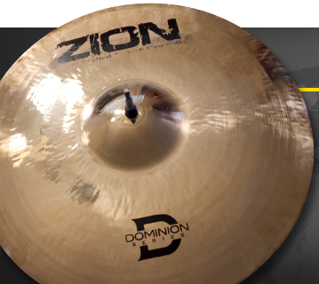 Zion Cymbals Dominion Series Medium - 17in Crash